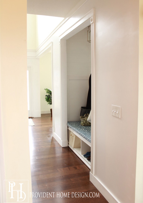 Hallway and Foyer Makeover