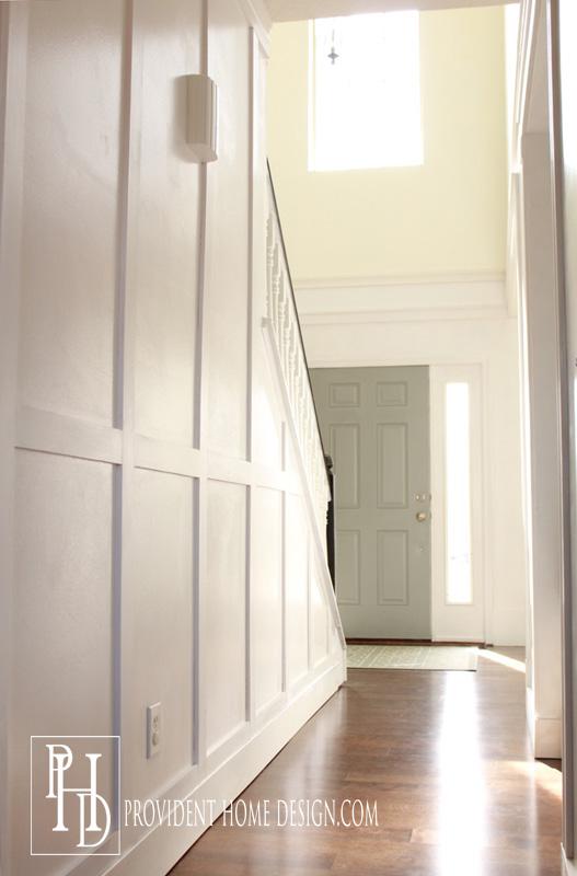 Hallway and Foyer Wood Trim