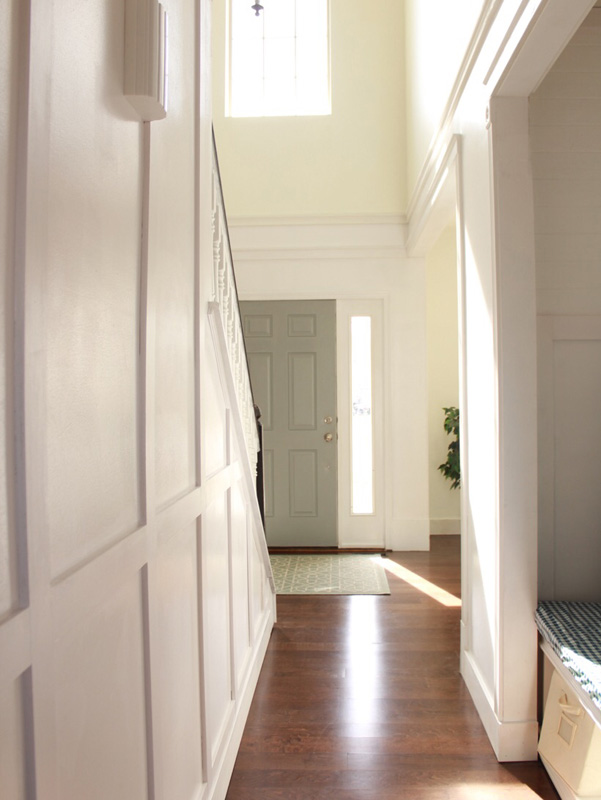 Hallway to Foyer Renovation