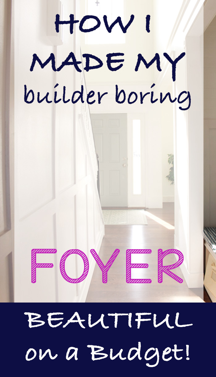 how to makeover your foyer