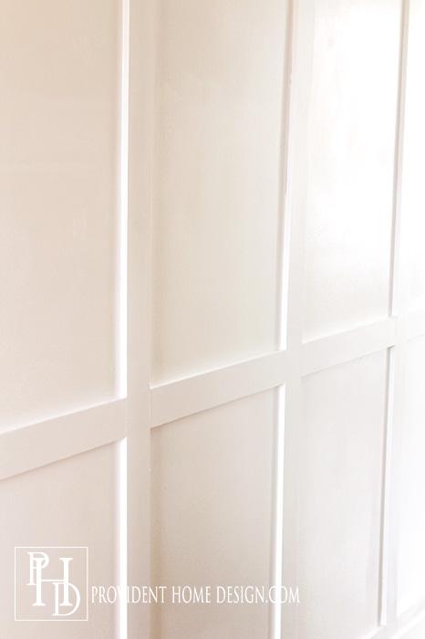 Upclose Hall Wall treatment