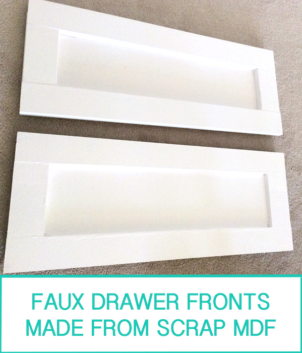 Faux Drawer Front