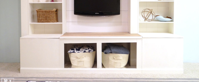 The Importance of Architectural Details & DIY Media Wall Unit