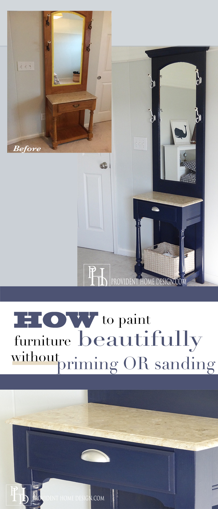 How to Paint Old Wood Furniture to Look Beautiful