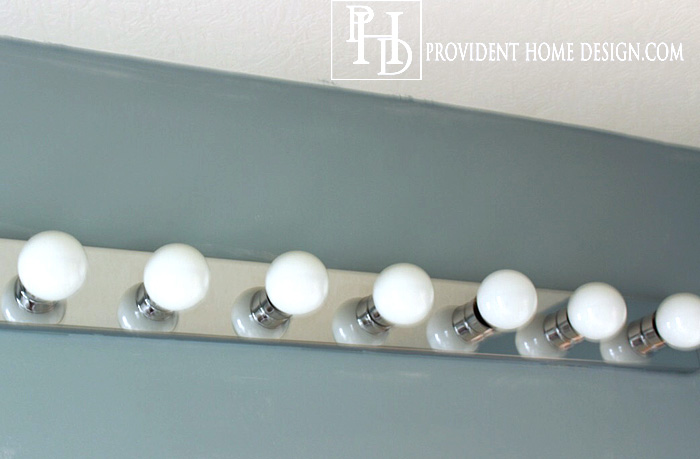 Bathroom Vanity Lights Single how to replace a hollywood light with 2 vanity lights