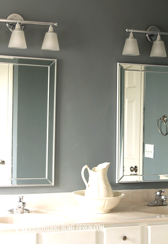 How To Replace A Hollywood Light With 2 Vanity Lights