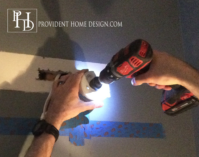 How to Replace a Hollywood Light with 2 Vanity lIghts Wiring Vanity Lights on