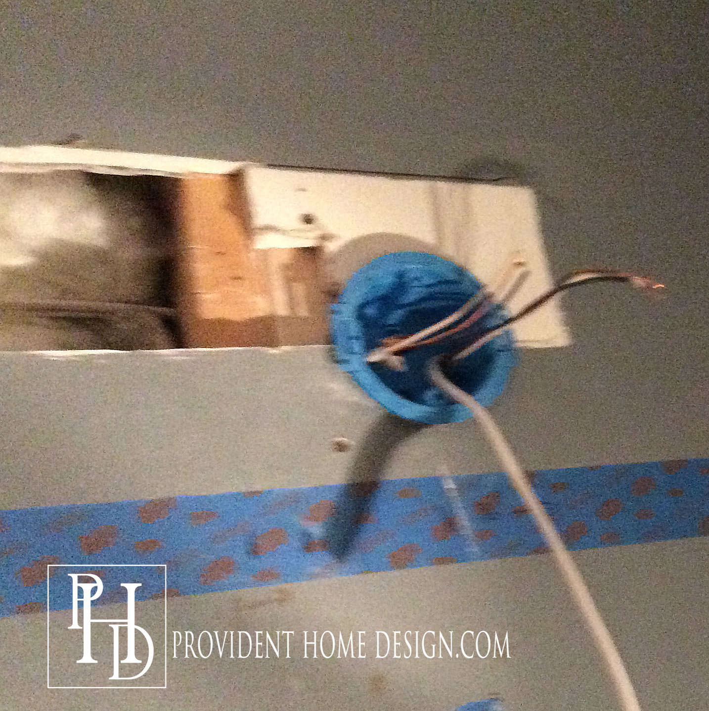 How To Replace A Hollywood Light With 2 Vanity Lights Electrical Wiring Behind Walls Wire One Two