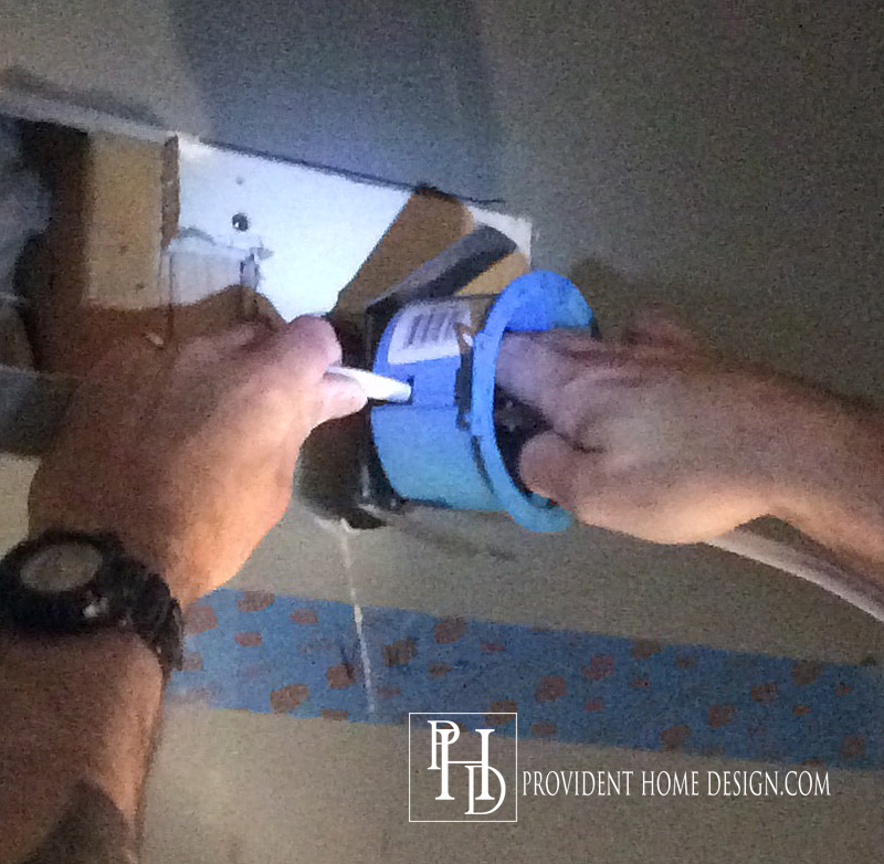Bathroom Vanity Light Has No Junction Box how to replace a hollywood light with 2 vanity lights