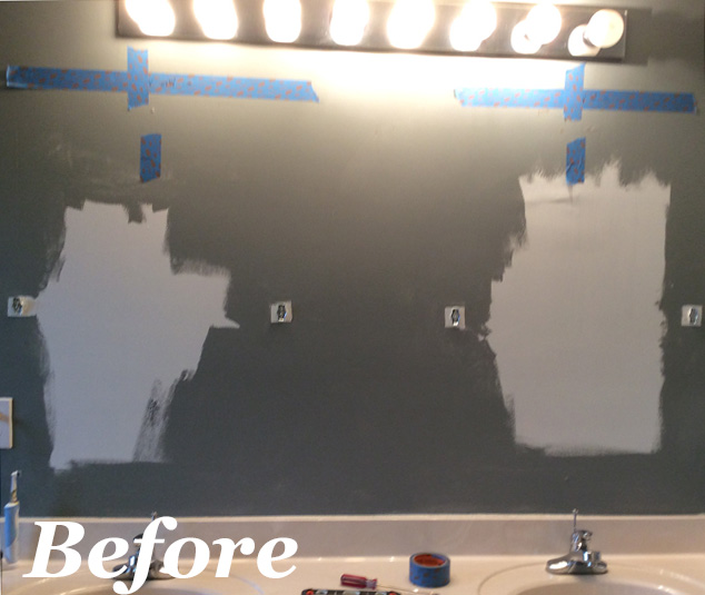 Replacing a Hollywood Light Before