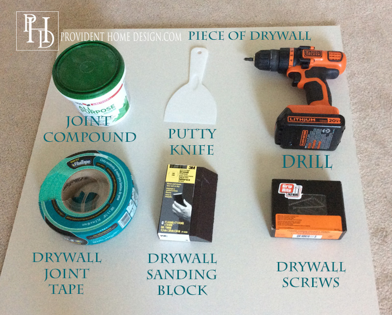 Supplies for Drywall Reapair