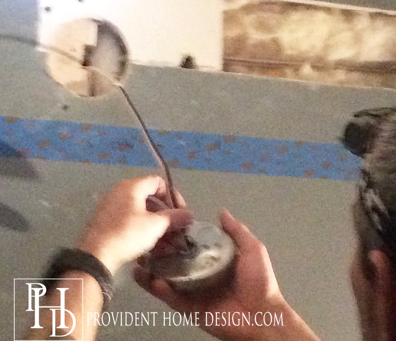 How to Replace a Hollywood Light with 2 Vanity lIghts Vanity Light Fixture Wiring Diagram on