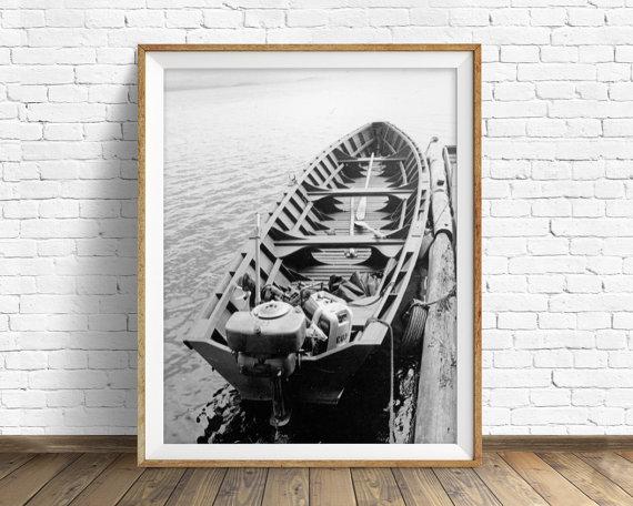 Etsy Printable Black and White