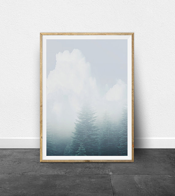 Etsy Printable Clouds