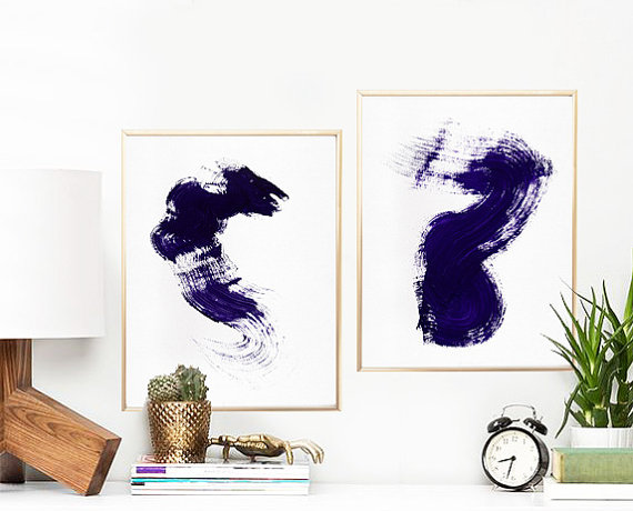 Amazing Etsy Printable IInk Blots