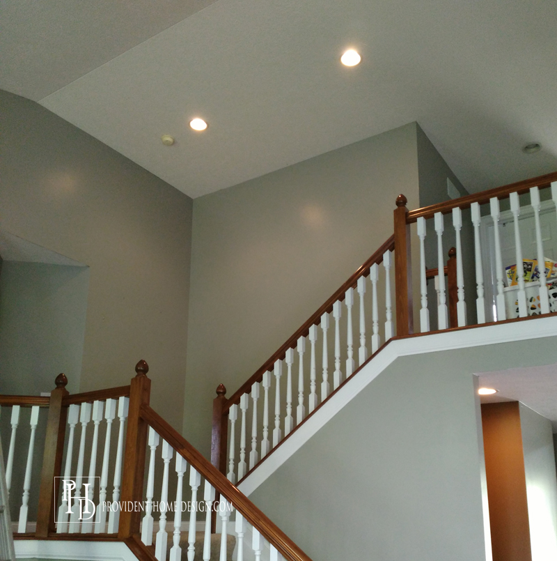 How to Paint a Two Story Entry copy