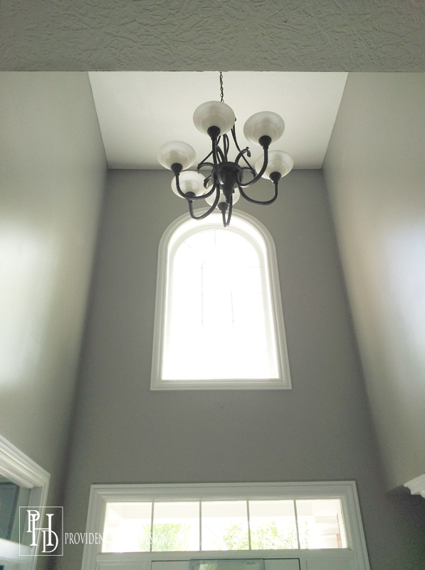Two Story Foyer Paint : The secret to painting a story wall