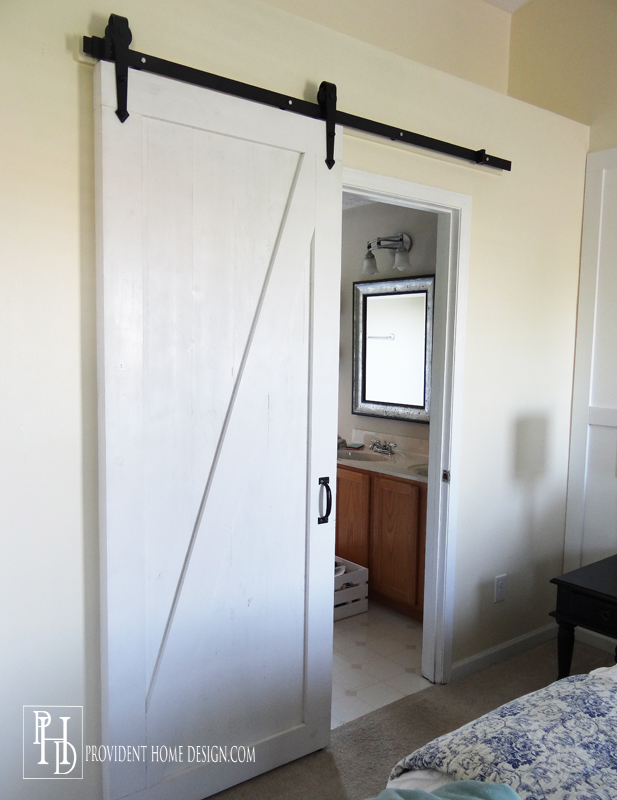 Master Bedroom Barndoor