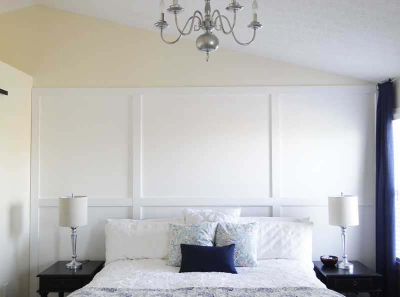 Beautiful Bedroom Makeover on a Budget