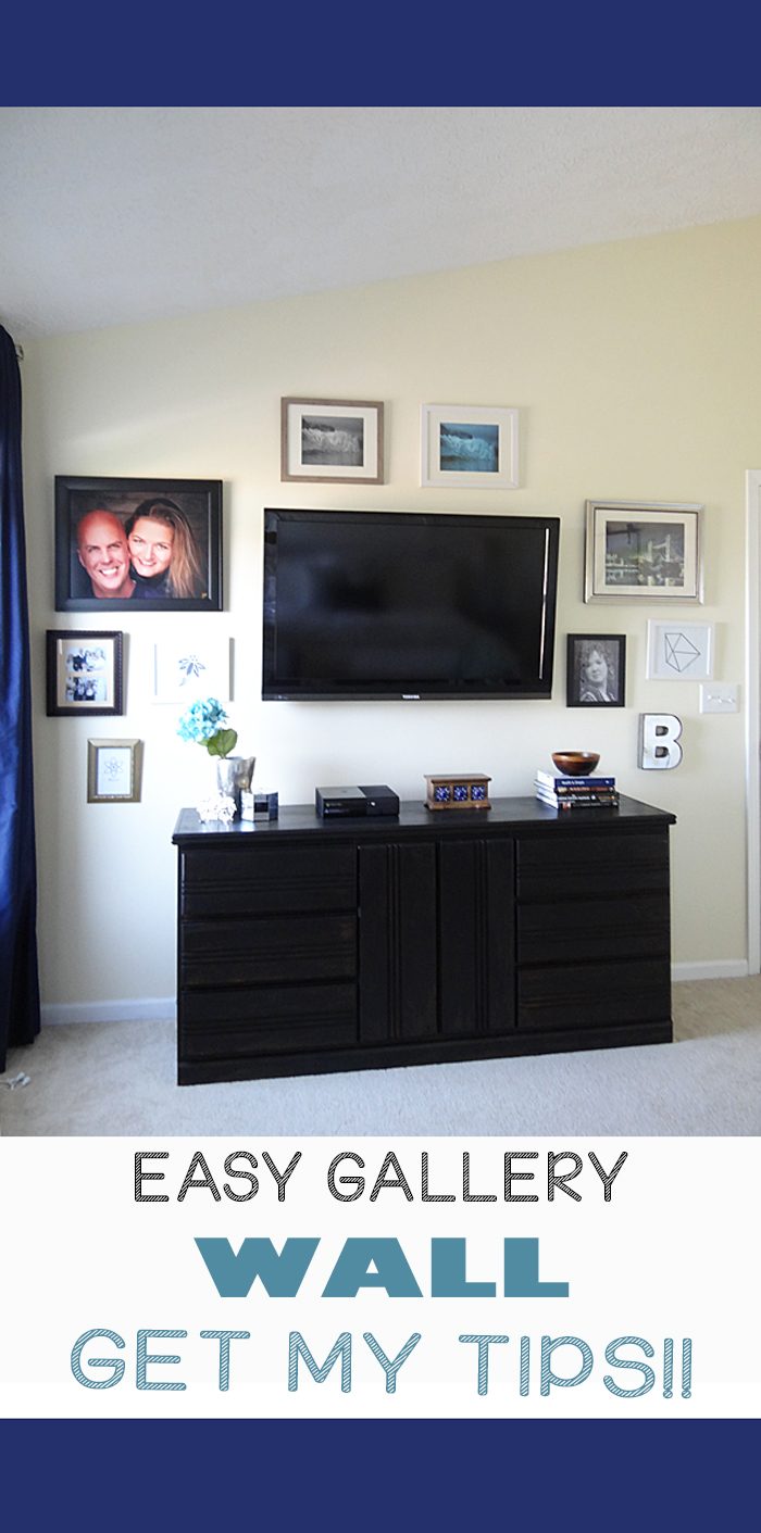 TIPS FOR AN EASY GALLERY WALL INSTALLATION