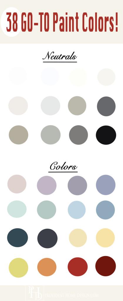 38 Best Go-To Paint Colors