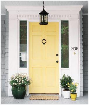 Paint Bm Hawthorne Yellow