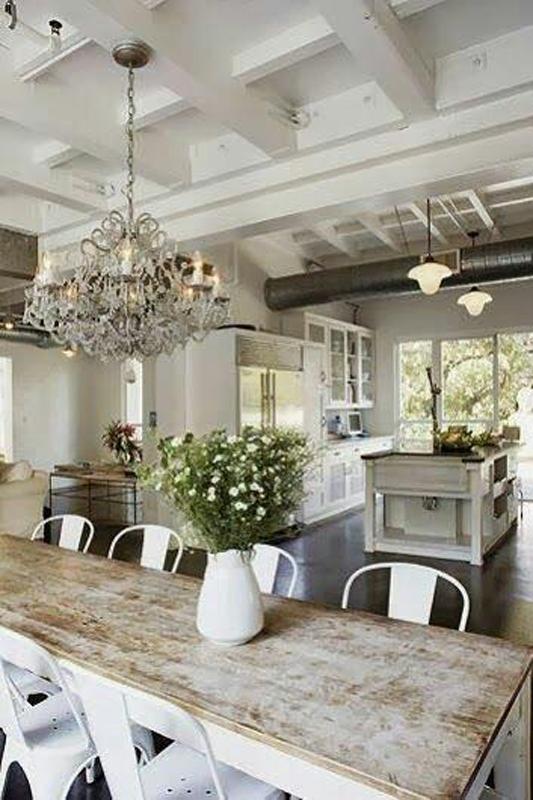 Inspiration DIY Farmhouse Table