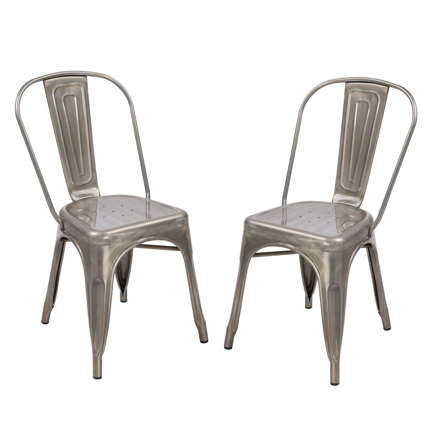 Metal Chairs for DIY Farmhouse Table