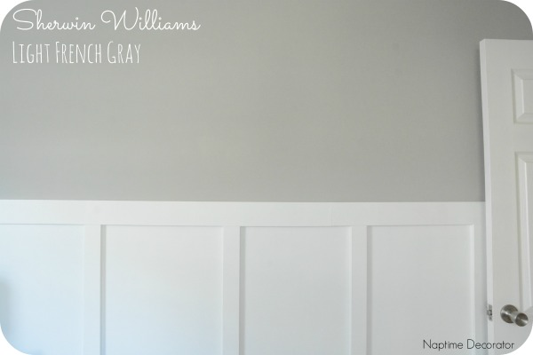 Paint Sherwin Williams Light French Gray