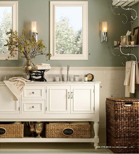pottery barn coastal decor