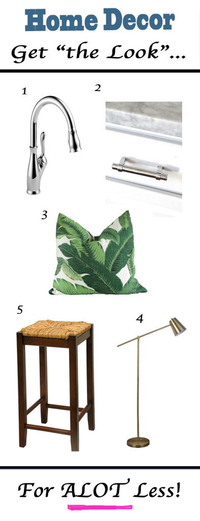 Home Decor The Look for A Lor Less