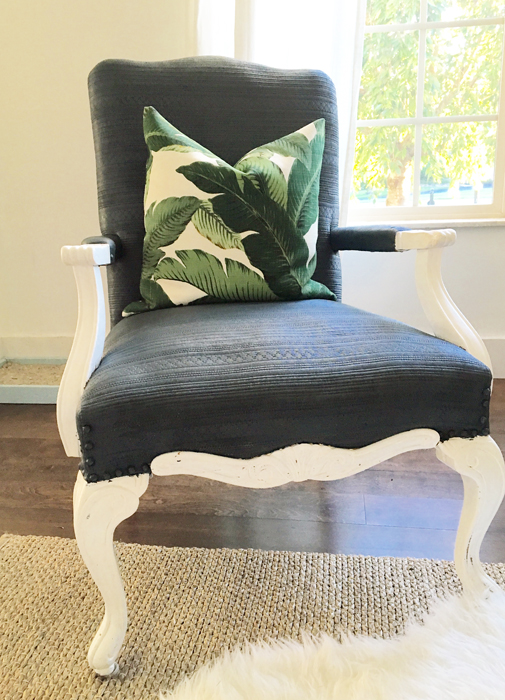 Lacey Placey Banana Leaf Pillow