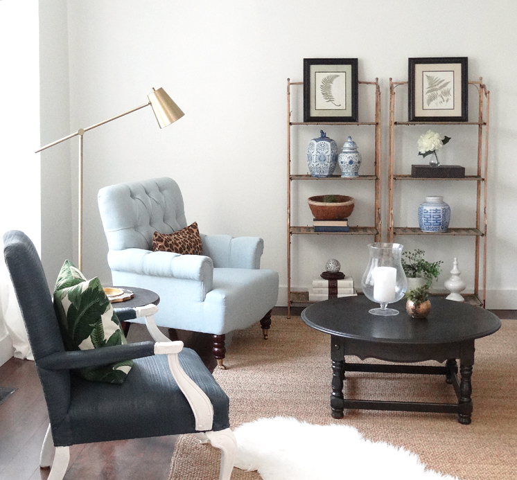 Living Room Budget Makeover