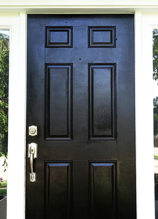 Remarkable How To Paint Your Front Door Easy And Inexpensive Home Interior And Landscaping Mentranervesignezvosmurscom