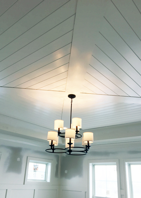 Parade of Homes Cieling Treatment