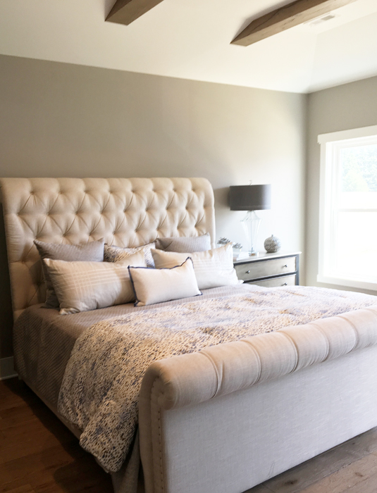 Parade of Homes Master Bedroom