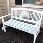 Outdoor Bench Makeover & Best $15 Sander Around