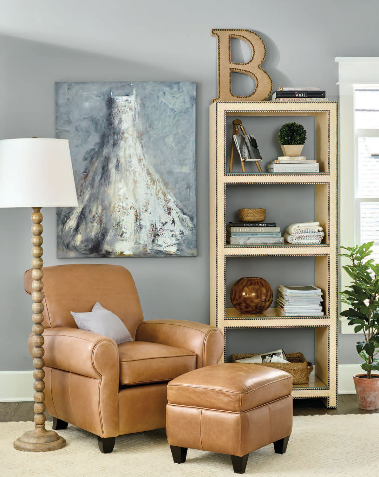 bookshelf-styling-with-ballard-designs