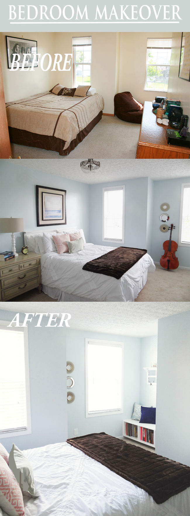 A Beautiful Bedroom Makeover for Zoe - Provident Home Design
