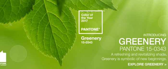 Pantone's 2017 Color of the Year