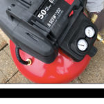 Tool Time with Tamara- Air Compressor and Nail Gun Kit