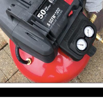 Tool Time with Tamara- Air Compressor and Nail Gun Kit