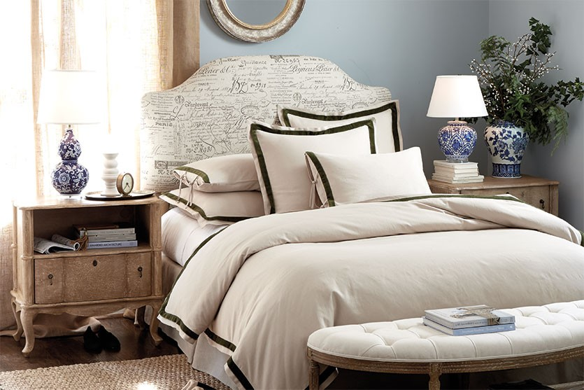 Ballard Designs master bedroom