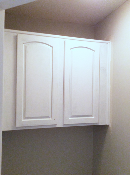 Coat 2 of Painting Cabinets