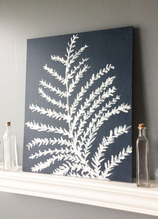 Navy DIY Artwork