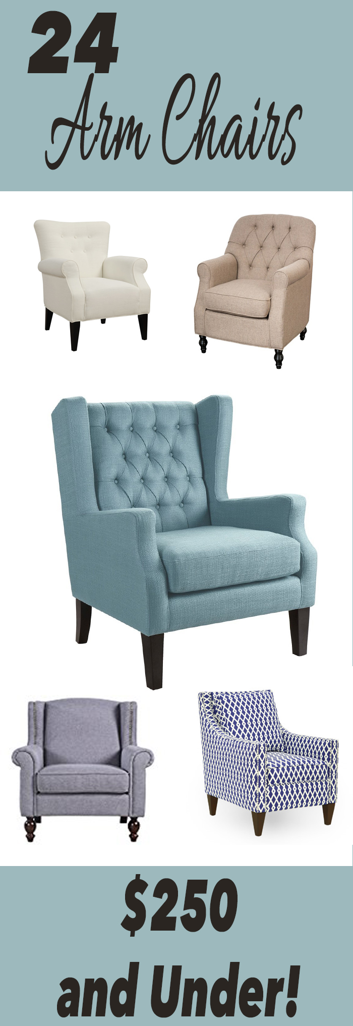 24 Arm Chairs for Under $250
