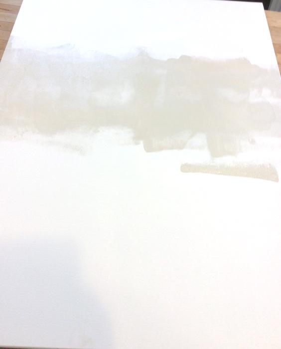DIY Painting Step 1