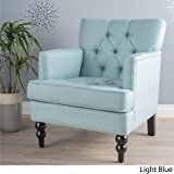 Medford Light Blue Arm Chair