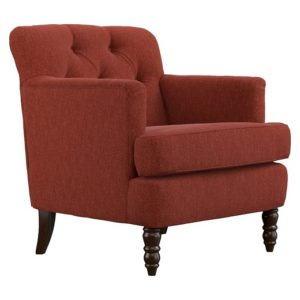 Suzanne Sangria Red Chair