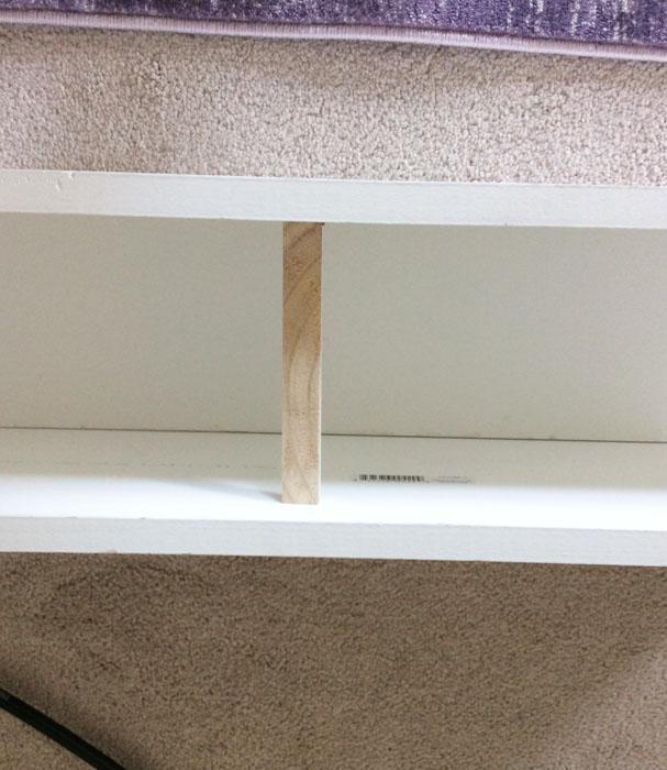 DIY Ceiling Beam Step 3